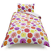Tesco Kids Photographic Floral Duvet Set, Single
