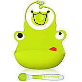 Babisil Ribbib Munch Set - Green Frog