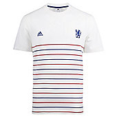 2013-14 Chelsea Adidas Authentic Tee (White) - White