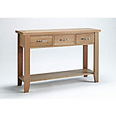 Ametis Sherwood Oak Console Table - 85cm