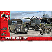 Airfix A03311 Wwii Raf Vehicle Set 1:72 Military Model Kit
