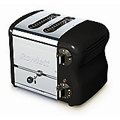 Rowlett Rutland Esprit 2 Slice Wide Bread Toaster with Bun Mode - Black