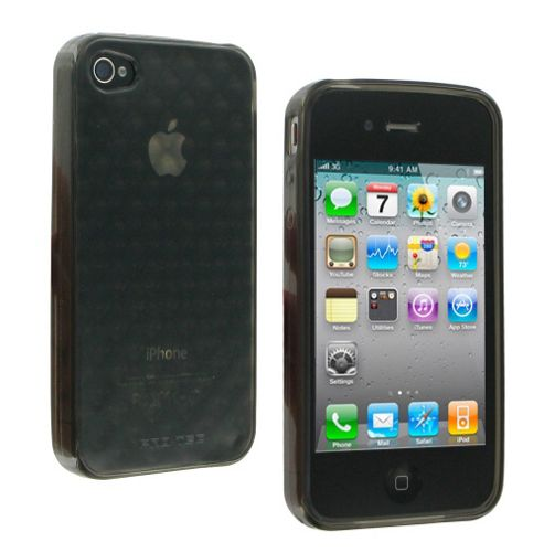 Pro-Tec Quilted Glacier Case for Apple iPhone 4 / 4S - Black