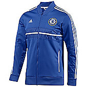 2013-14 Chelsea Adidas Anthem Jacket (Blue) - Blue