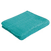 Tesco 100% Combed Cotton Hand Towel Kingfisher Green