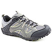 Mountain Peak Mens Himalayas Grey Trainers - Grey