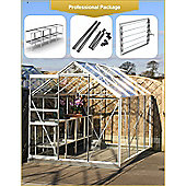 Simplicity Classic 6x8 greenhouse Professional package With
