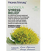 Higher Nature Rhodiola Stress Relief 30 Tablets
