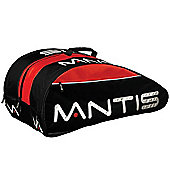 MANTIS 12 Tennis Racket Thermo Bag Black Red