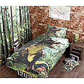 T Rex Dinosaur 10.5 Tog University Bedding Bundle - Single