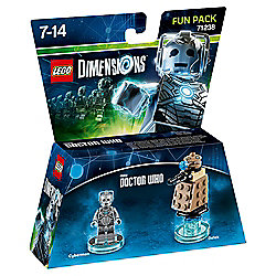 LEGO DIMENSIONS DOCTOR WHO CYBERMAN & DALEK FUN PACK