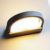 Lutec Origo Wall Light in Graphite