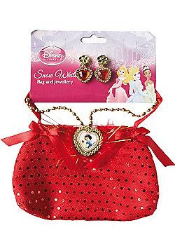 Rubies - Disney Snow White Bag & Jewellery Set