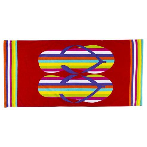 Tesco Flip Flop Beach Towel