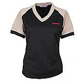 Kawasaki Ladies Official Tube T-Shirt - Black