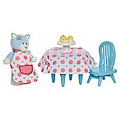 Tatty Teddy & Blue Nosed Friends Kittywink Kitchen Set