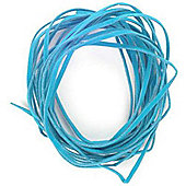 Imitation Suede Lace Turquoise