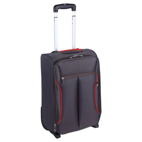 buy tesco lightweight 2 wheel suitcase grey small from. Black Bedroom Furniture Sets. Home Design Ideas
