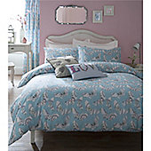 Catherine Lansfield Bohemian Butterfly Single Bed Cotton Rich Quilt Set Multi Coloured