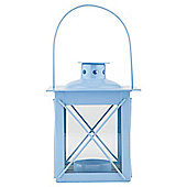 Tesco Metal Lantern, Blue