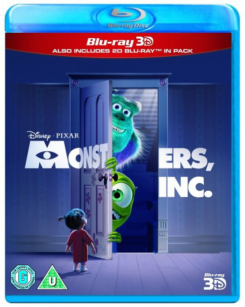 Monsters Inc (Blu-Ray 3D + Blu-Ray)