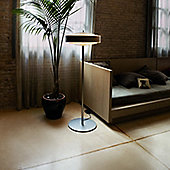 Marset Bosca Floor Lamp - Oak - 3x E27 75W