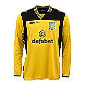 2013-14 Aston Villa Home Goalkeeper Shirt (Yellow) - Yellow