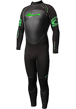 Sola 5mm Full Wetsuit - Green