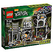 LEGO TMNT Turtle Lair Invasion 79117
