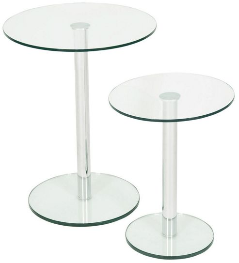 Buy LEVV Round Side Table (Set Of 2)