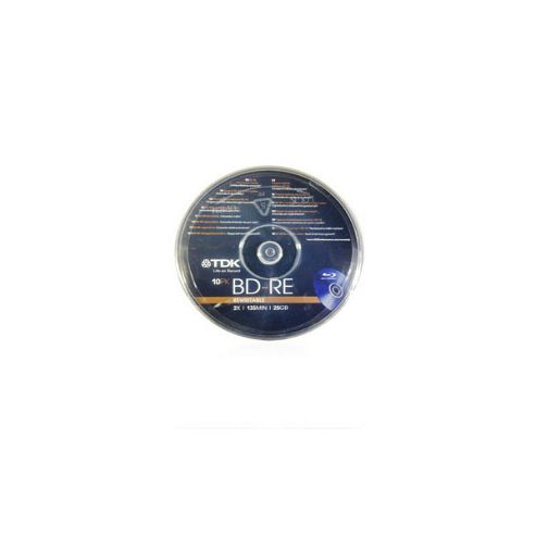 BDRE-25GB-10CAKE 10 Pack Re-writable Blu-ray Discs with up to 25GB Capacity