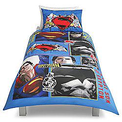 Batman v Superman Single Duvet Set
