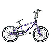 "Rooster Zuka BMX Purple with Spoke 18"" Wheels"