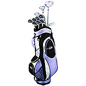 Golfgirl Fws2 Ladies Golf Clubs Set With Bag Lrh Lilac