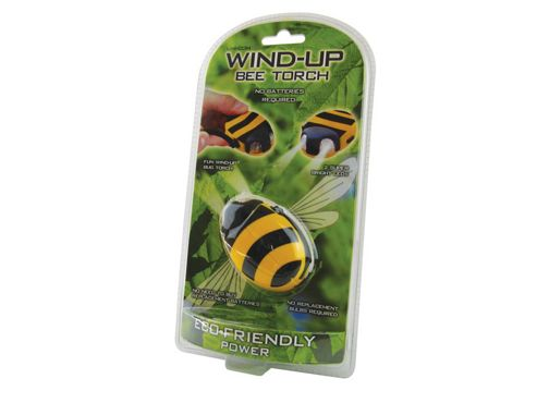Unicom 57949 Wind Up Torch Bumble Bee