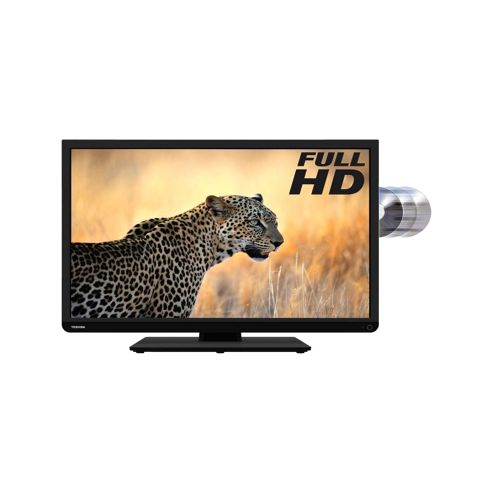 Toshiba (24 inch) Full HD LED Television with Built-In DVD Player 1920 x 1080