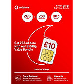 Vodafone PAYG Tri-Sim
