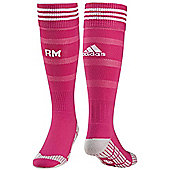 2014-15 Real Madrid Adidas Away Football Socks - Pink