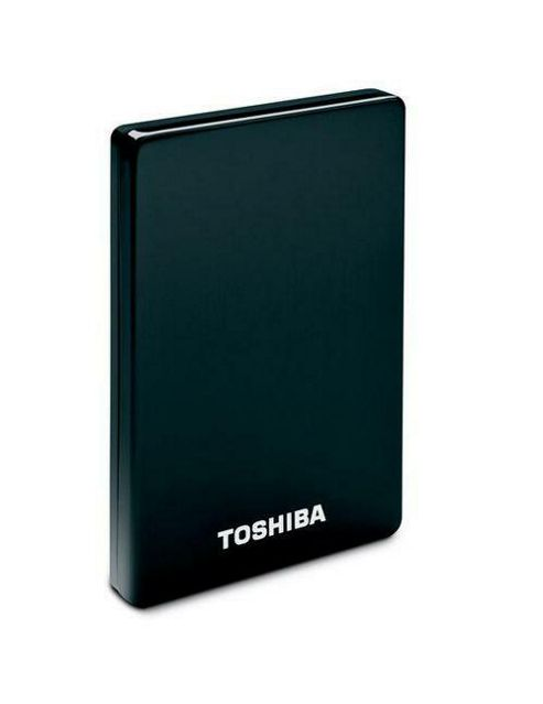 Toshiba Stor.E alu2S 1000GB 2.5 inch USB Portable External Hard Drive (Black)