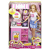 Barbie Doll and Bakery Playset
