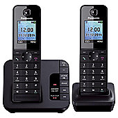 Panasonic KX-TGH222EB Twin Cordless Home Phone
