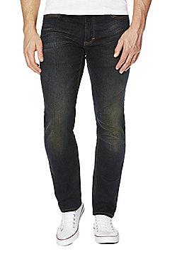 F&F Indigo Tint Slim Fit Stretch Jeans - Indigo tint