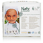 Naty by Nature Babycare Size 4 Nappies 27 Pack- (7-18kg)