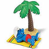 Schleich Super Smurfs Smurf on Holiday