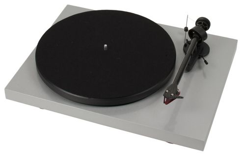 PROJECT DEBUT CARBON TURNTABLE (GLOSS SILVER)