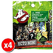 Ghostbusters ECTO Mini Figures Blind Packs (4x Random figures supplied)