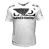 Bad Boy Walk In Tee White - Large