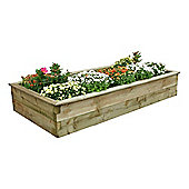 Zest 4 Leisure Rectangular Sleeper Raised Bed - 30cm H x 180cm W x 90cm D