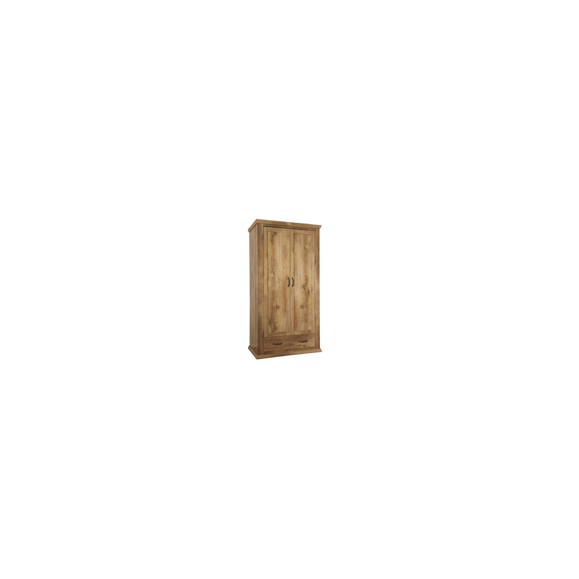 Urbane Designs Warwick 2 Door 1 Drawer Wardrobe at Tesco Direct