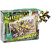 Shrek Puzzle - 45 Pieces